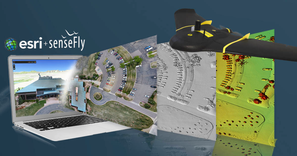 Sensefly teams up with esri to host free drone to gis webinar the exclusive webinar will explain how to employ sensefly drone data in esris drone2map for arcgis sciox Gallery