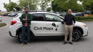 civil maps car