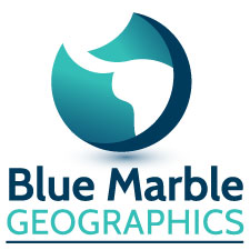 Global Mapper v.20 - Blue Marble Logo