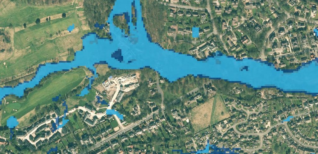 Mapping flood risk in the uk designed to help home owners developers and risk management authorities understand the threat of groundwater flooding the new color coded map is easy to gumiabroncs Choice Image
