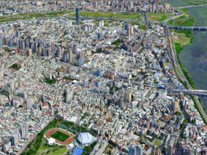 RealWorld Engineering 3D model of New Taipei City