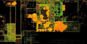 TruePoint laser Scanning intensity map