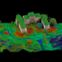 LiDAR representation by Echo using a Riegl MiniVUX -1UAV.
