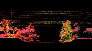 SAM point cloud image