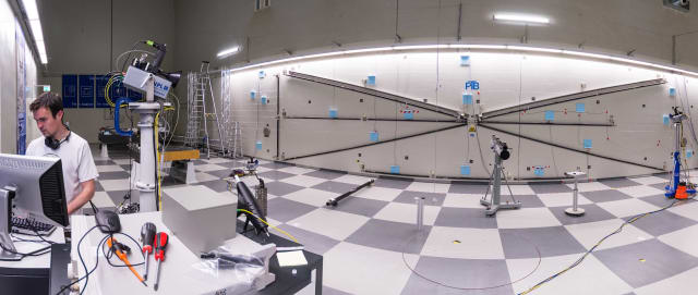Photo of Frequency Scanning Interferometry Lab