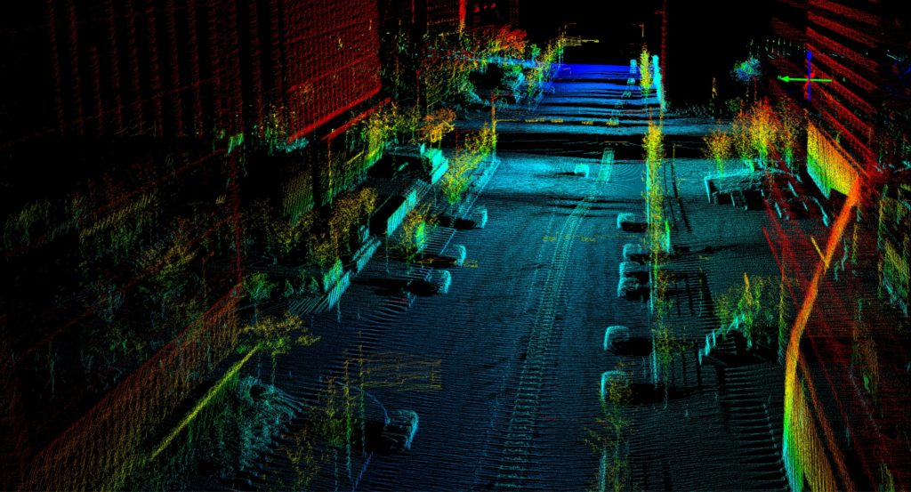 Quanergy M8 Ultra Point Cloud