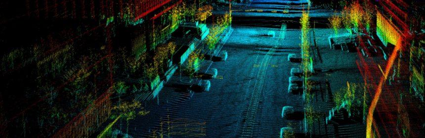 Image of point cloud BASF Automotive Solutions
