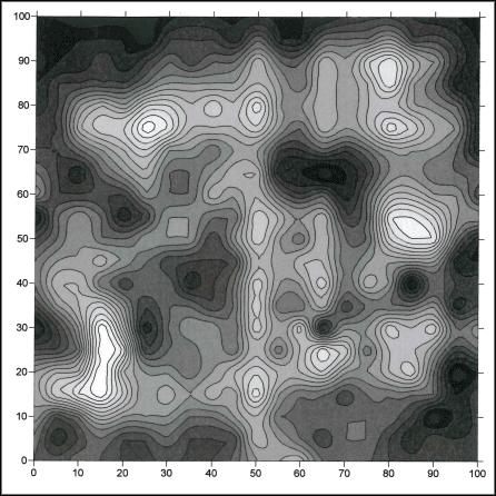 Concrete Slab Flatness via Topo Map