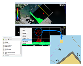 Images from Automated Bathymetry and Lidar