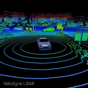 Point Cloud Image Nikon Invests $25 Million in Velodyne