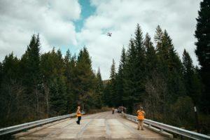 Image of drone Aerial Lidar Scans