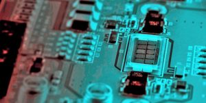 Image of TriLumina VCSEL Chip