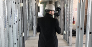 photo of Mobile Scanning with the PX-80 building construction