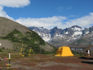 Photo of Emily Gottesfeld at Alaska Base Camp