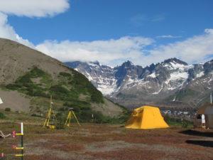 Photo of Emily Gottesfeld at Alaska Base Camp