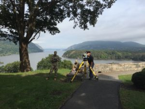 Photo of Cadets Surveying at West Point for Matt O'Banion