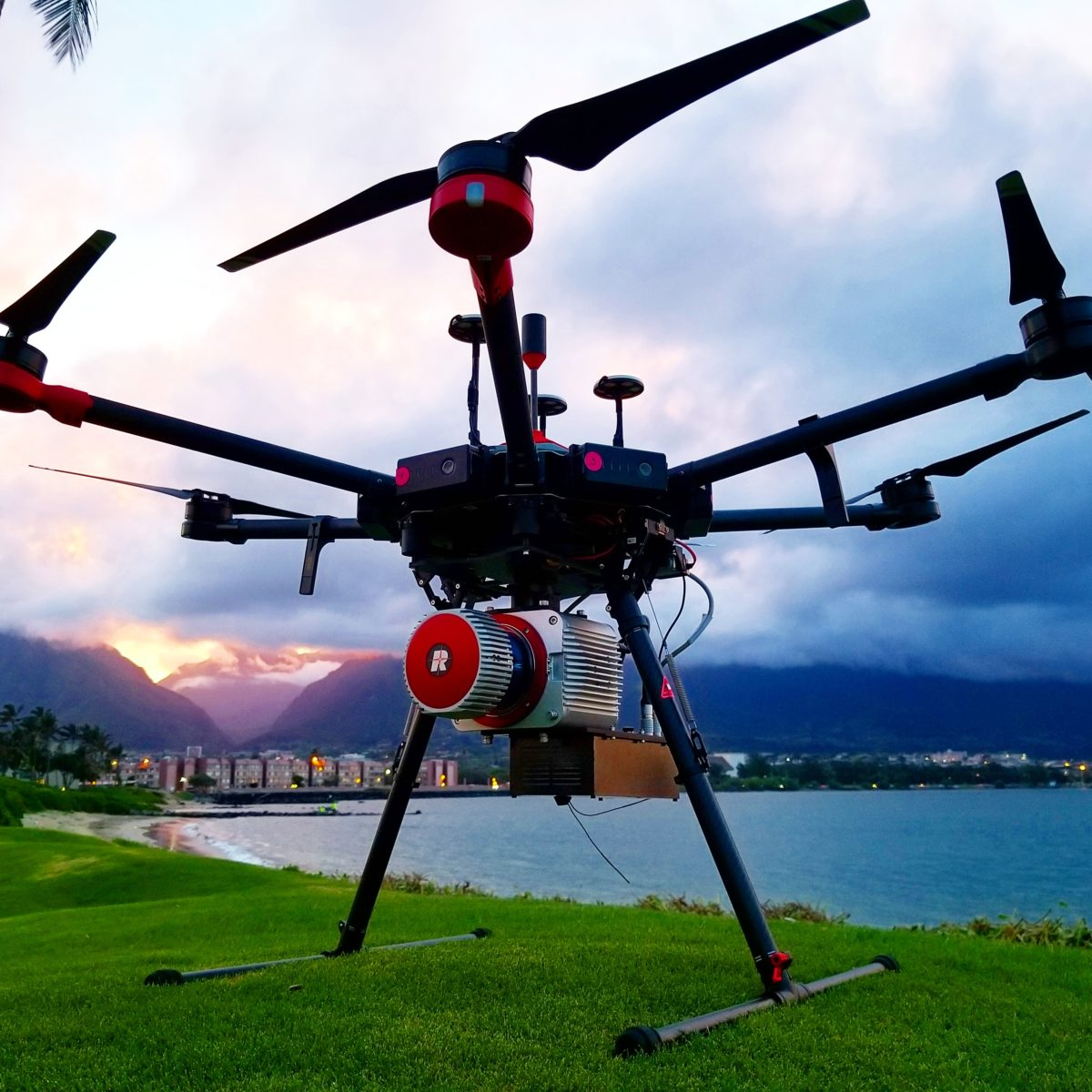 NV5 Provides Integrated UAV Lidar Mapping Services -