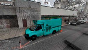 image of truck Transforming Urban Cores into Smart C