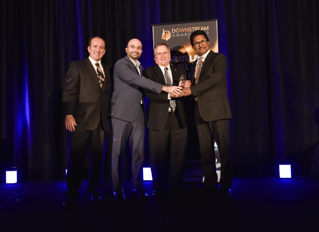 photo of Bentley Systems Wins Downstream Award for Digitalization