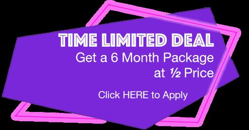 Limited Time Online Deal Logo