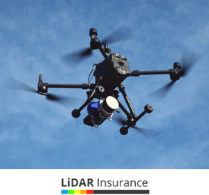 drone needs Insurance lidar